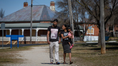 Thileeban and Devarani Rajalingam are desperate to find work so they can stay in Bathurst.