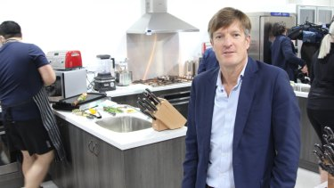 BHP South Flank project director Simon Thomas.