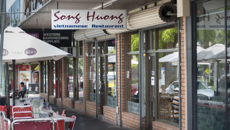 The Song Huong restaurant where clashes between Sudanese and Vietnamese people occurred in St. Albans.