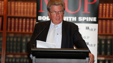 Former editor-in-chief of The Australian Chris Mitchell