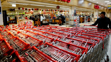 Coles will be spun-off in November.
