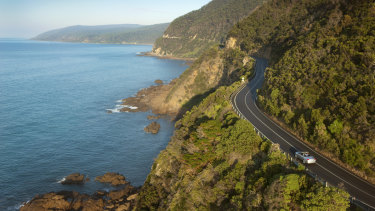 The Great Ocean Road, a rare treasure.