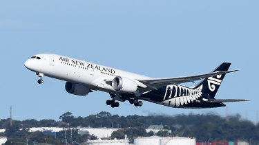 Air New Zealand has grounded all flights out of Wellington.
