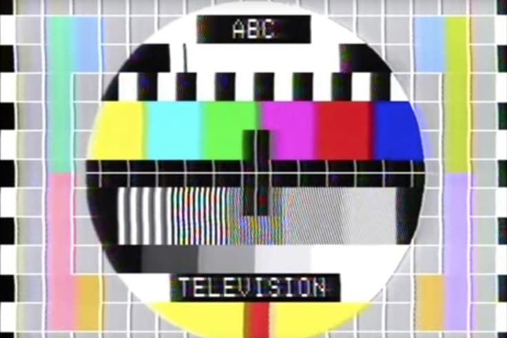 ABC test pattern from 1979.