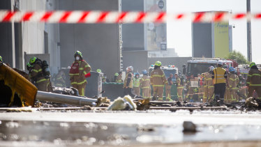 The Essendon Airport crash has raised questions about government oversight of developments around the country's airports.
