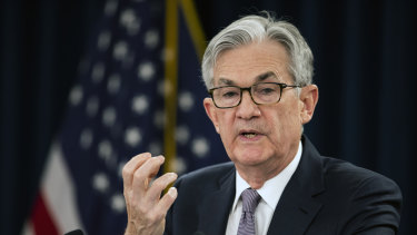 Fed chairman Jerome Powell says the path for the US economy to make a full recovery is very unclear.