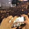 'Illegal, irrational and unreasonable': Hong Kong police slam students