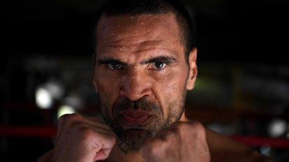 A glimpse of 'The Man' that is Anthony Mundine