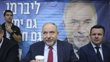 Former Israeli Defense Minister and Yisrael Beiteinu party leader Avigdor Lieberman looks to be one of the big winners of Israel's snap election.