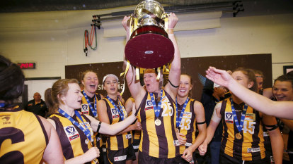 Bombers, Hawks push for AFLW teams amid financial upheaval