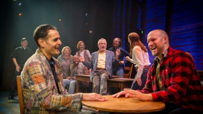 Short and sharp, Come From Away sidesteps the corniness to inspire