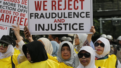 Protests expected as court likely to rule against Prabowo