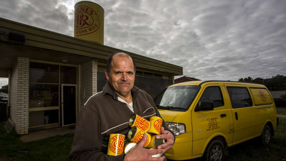 Sweet link to gold rush at bitter end as Castlemaine Rock makers close