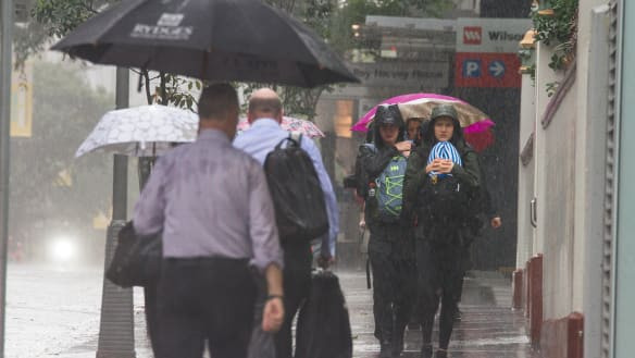 South-east soaked, with rain expected to hang around into next week
