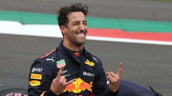 Ricciardo snatches pole for the Mexican Grand Prix