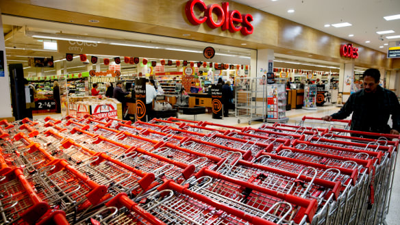 'No staff, no trolleys?' Coles can't have it both ways, readers say