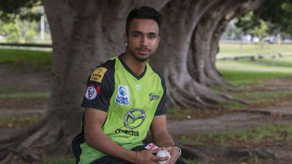 Nair ready  to repay faith shown by Thunder after pain of BBL ban