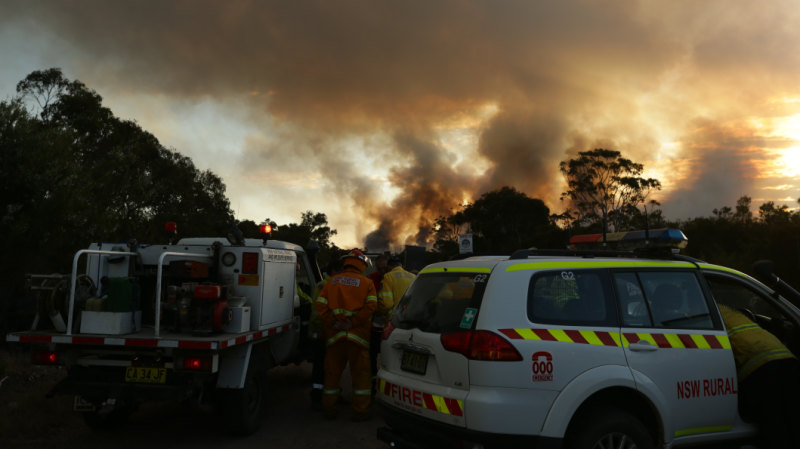 Too late to leave': Emergency warning for bushfire