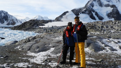 The long journey home: How WA couple's Antarctic adventure turned into a COVID nightmare