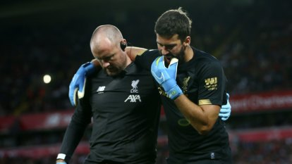 Liverpool blow as goalkeeping star Alisson to miss 'next few weeks'