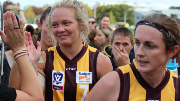 Playing against your own club in a (VFLW) grand final
