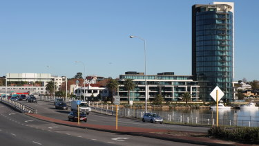 The Raffles is no longer the only tower in Applecross, Many more are planned, under construction and completed.