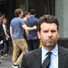 Sydney pub baron Phillip De Angelis, 39, has pleaded guilty to drink-driving while being banned from consuming alcohol.
