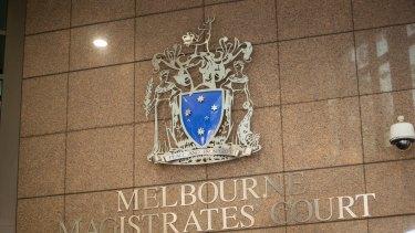 Melbourne Magistrates Court.