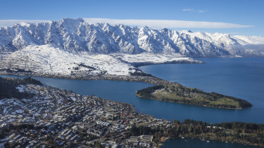 """Queenstown, New Zealand. The country had the """"most potential"""" to survive independently in the face of a global disaster, a study has found."""