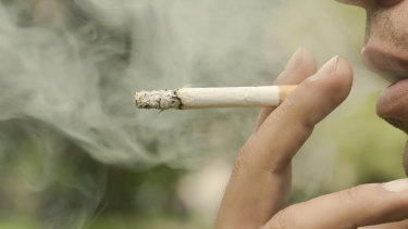 Hundreds of fines have been handed out for smoking in recent years in Queensland but many people escape with a warning.