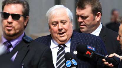 High Court decision on 'anti-Clive Palmer' law to be revealed on Tuesday