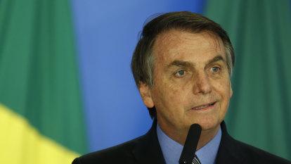 Jair Bolsonaro calls Amazon deforestation 'cultural,' says it 'will never end'