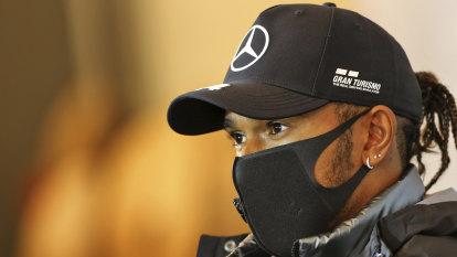 Hamilton's concern as F1 champions Mercedes report COVID-19 positive