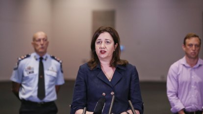 Third COVID-19 death in Queensland as RNA prepped to take patients
