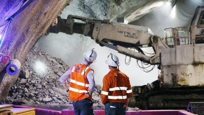 'It is epic down there': First look at Brisbane's new underground station