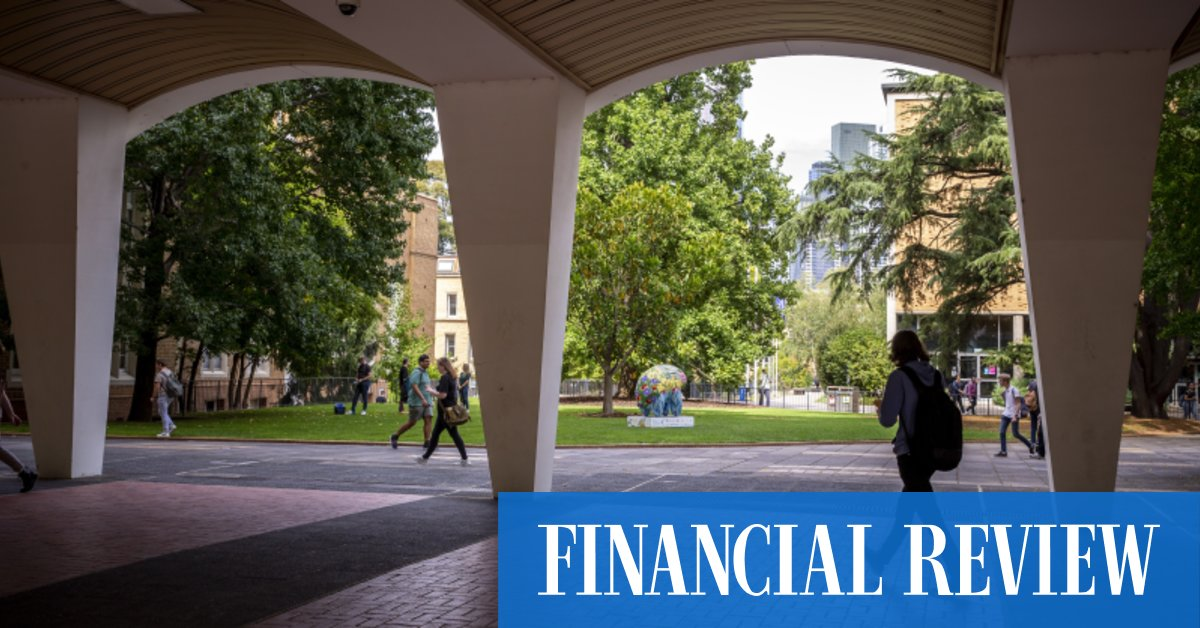 Melbourne Uni wins land tax appeal with charity defenceThe Australian Financial Review