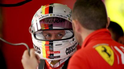 Vettel on top for Ferrari in Mexican GP practice
