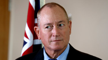 Richard Howard is employed by Senator Fraser Anning and may return to Home Affairs.