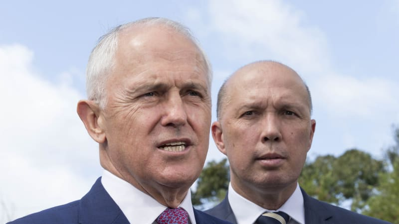 Politics live: Malcolm Turnbull to face party room as Peter Dutton considers leadership challenge