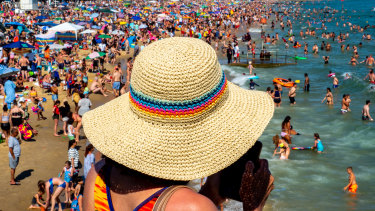 The crowds on Bournemouth beach last year on June 25 became a national scandal.