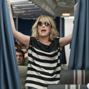 Kristen Wiig in <i>Bridesmaids</i>, a film which showed comedies starring women could succeed at the box office.