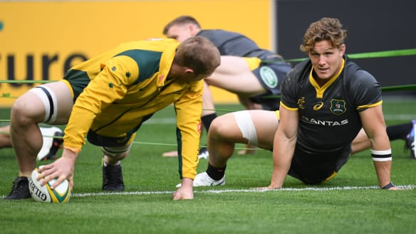 Wales flanker wary of Wallabies' world-class duo