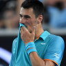 Hurt Tomic out of Atlanta quarters