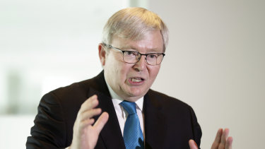 Former prime minister Kevin Rudd warned in 2011 that Australian companies needed to operate to high environmental and safety standards overseas.