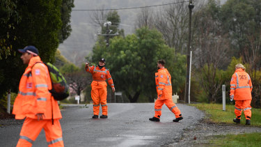 """SES volunteers attend crashes across the state. SES Wodonga deputy controller Lisa Wise says: """"I want to be there because I hope that someone would be there for me."""""""