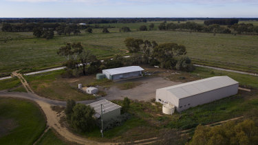 Murray Valley Industry Park, where Ausway College proposed to set up a China-funded research facility.
