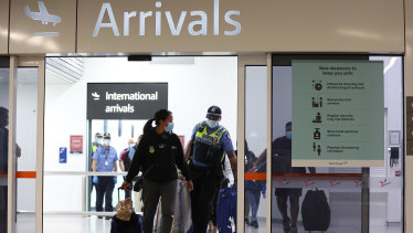 Health Minister Greg Hunt said even if all Australians get vaccinated there is no guarantee the borders will reopen.