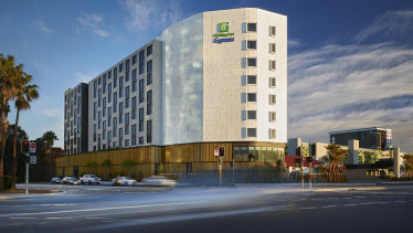 The newly-opened Holiday Inn Express at Sydney Airport, Mascot, Sydney