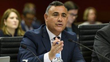 NSW Deputy Premier John Barilaro says he will contest the 2023 election.