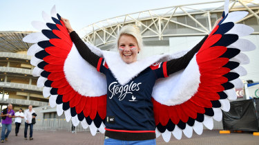 Roosters fans will take the journey west to ANZ Stadium.